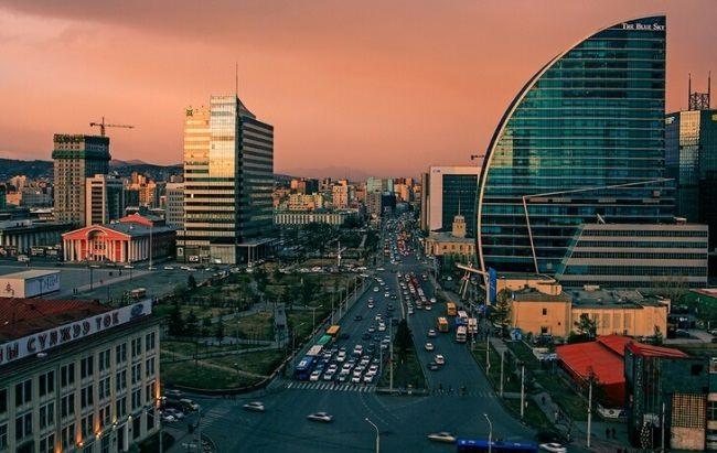Ulaanbaatar - capital of Mongolia