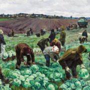 V. Borisenkov. Cabbage. 1958