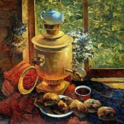 Victor Yuryevich Dovbenko. Breakfast at the dacha