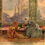 W. Heath Robinson. Feste and Olivia