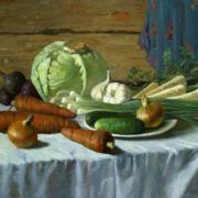 Yury Shteingarz. Still Life with Vegetables. 2007
