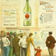 Absinthe is poison. Poster of 1910