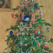 Astapova Deborah Mikhailovna. The New Year Tree. 1961