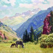 Attractive Ural Mountains by Alexander Samokhvalov