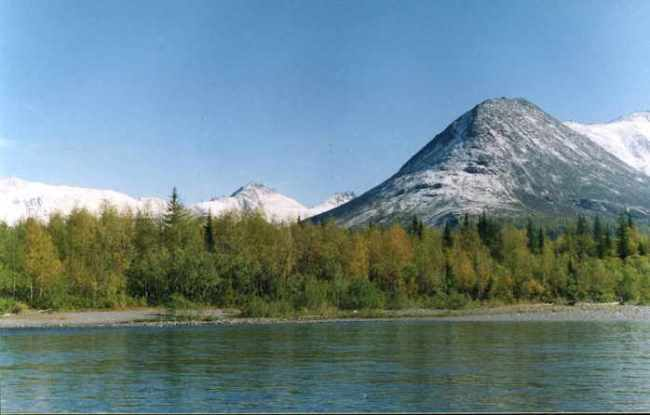 Attractive Ural Mountains