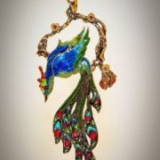 Awesome Brooch Firebird