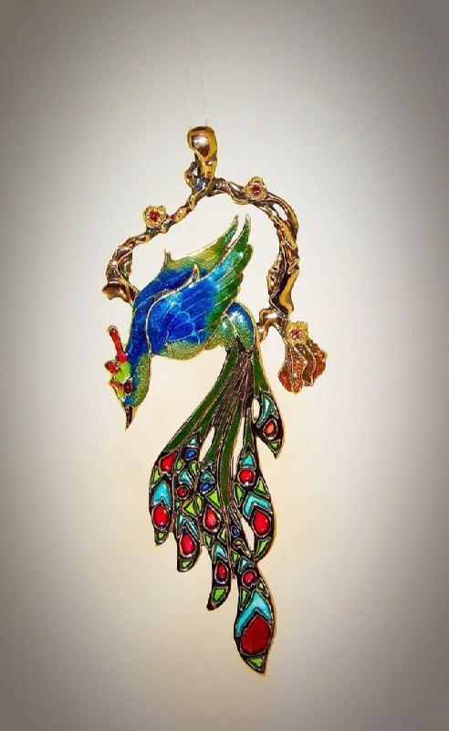 Awesome Brooch Firebird