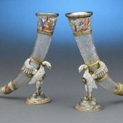 Charming drinking horns