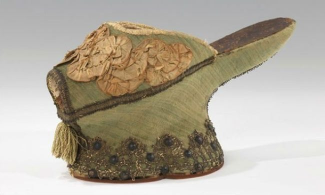 Chopins, Italy, silk and metal, 1550-1650