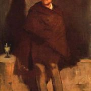 Edouard Manet. Absinthe Drinker, 1858-1859