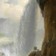 Ferdinand Richardt. Parti fra Niagara Falls