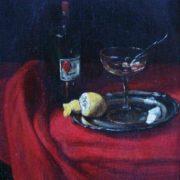 Francois Bonvin. Still life with absinthe