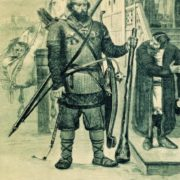 Ilya Muromets. 1895. Illustration for the book Russian epic bogatyrs