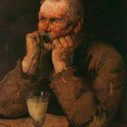 Jean Daniel Ihly. An absinthe Drinker. 1902