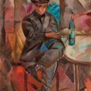 Jules Schyl. Absintdrickaren. 1924