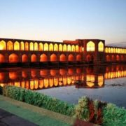 Khaju Bridge is the oldest bridge in the East, as iconic as Ponte Vecchio for Europe