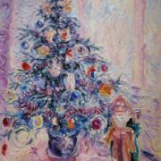 Konstantinov Alexey Vladimirovich. New Year's tree with Ded Moroz. 2011