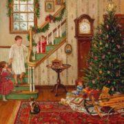 Lee Stroncek. A Christmas Morning.