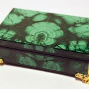Malachite casket