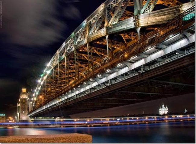 Many call St. Petersburg the city of bridges because of the huge number of beautiful and original bridges