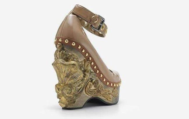 Miu Miu, Baroque Cammeo collection, leather, 2006