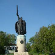 Monument to Ilya Muromets in Murom