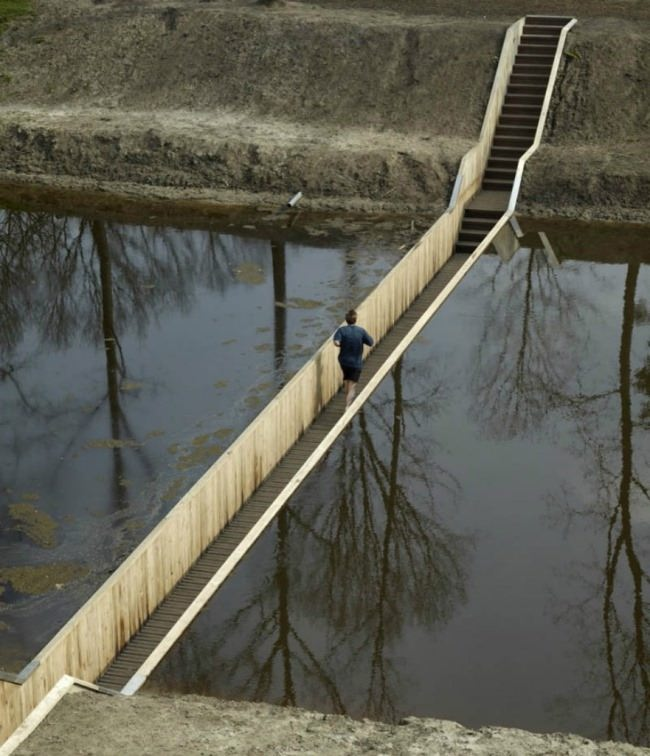 Moses Bridge, Netherlands