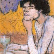 Pablo Picasso. Absinthe, 1901