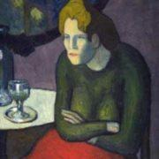 Pablo Picasso. Absinthe Drinker