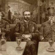 Pierre-Auguste Renoir. Characteristic Parisian Cafes. prints Theodore Child, 1889