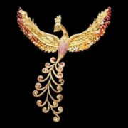 Pretty Brooch Firebird