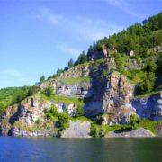 Pretty Ural Mountains