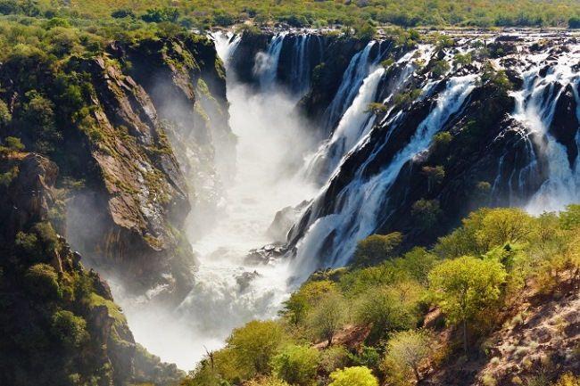 Ruacana Falls, Namibia