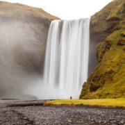 Skogafoss is a waterfall, Iceland