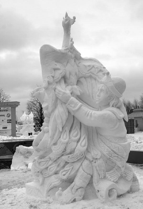 Snow Firebird and Ivan Tsarevich