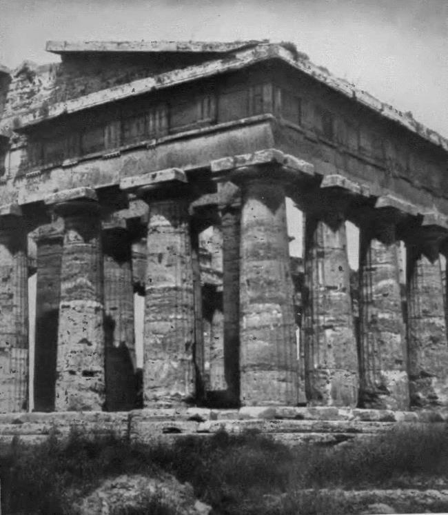 Temple of Poseidon in Paestum