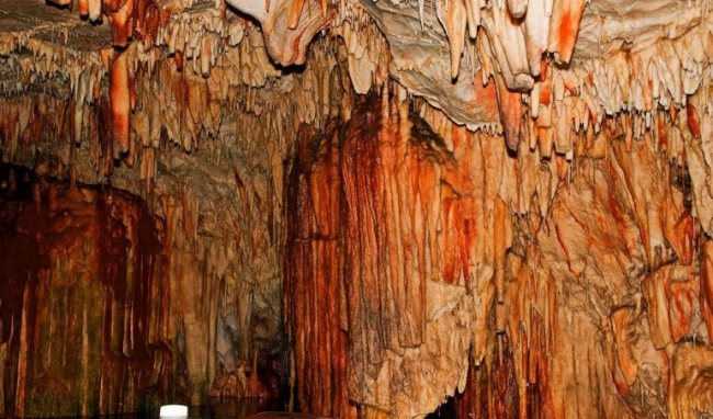 The cave of Diros