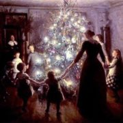 V. Johansen. Happy Christmas, 1891