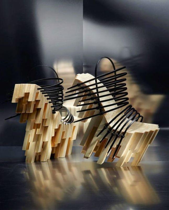 Winde Rienstra, bamboo platform, 2012