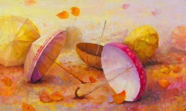 Alexander Soloviev. Umbrellas. 2005