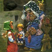 Baba Yaga and small children