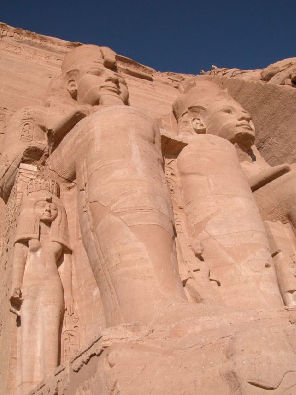 Beautiful Abu Simbel Temple