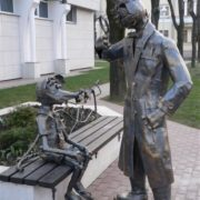 Cat and mouse. Minsk