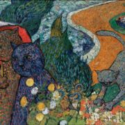 Cats of Arles. Original - Vincent Van Gogh, Ladies of Arles