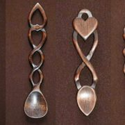Celtic love spoons