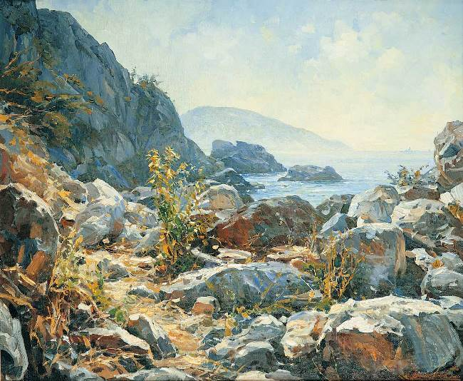 Crimean shore. Vasily Nesterenko