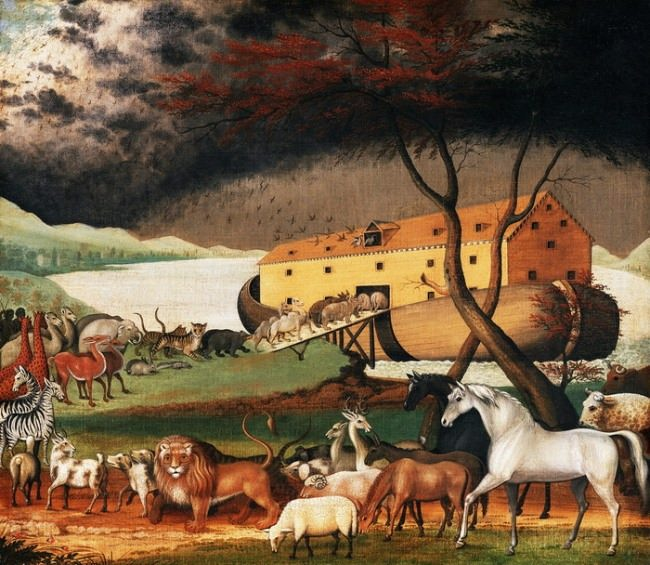 Edward Hicks. Noah's Ark
