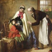 Edward Hughes. A first visit to the dentist