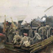 Evacuation from the Crimea. Dmitry Belyukin