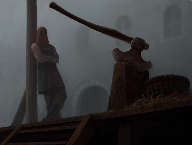 Executioner is one of the oldest professions